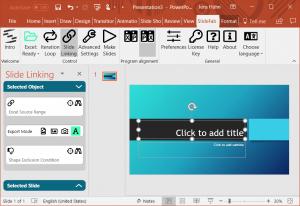 SlideFab 2 Window Example