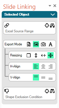 New Resize Mode and Alignment Features