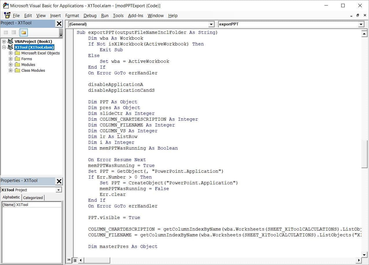 Think twice before coding VBA from Excel to Powerpoint