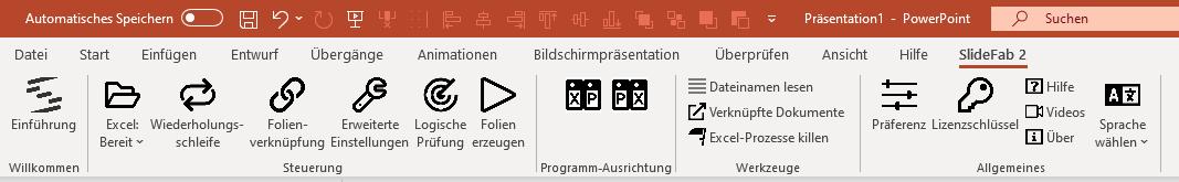 SlideFab 2 Multifunktionsleiste