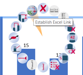 think-cell create Excel link