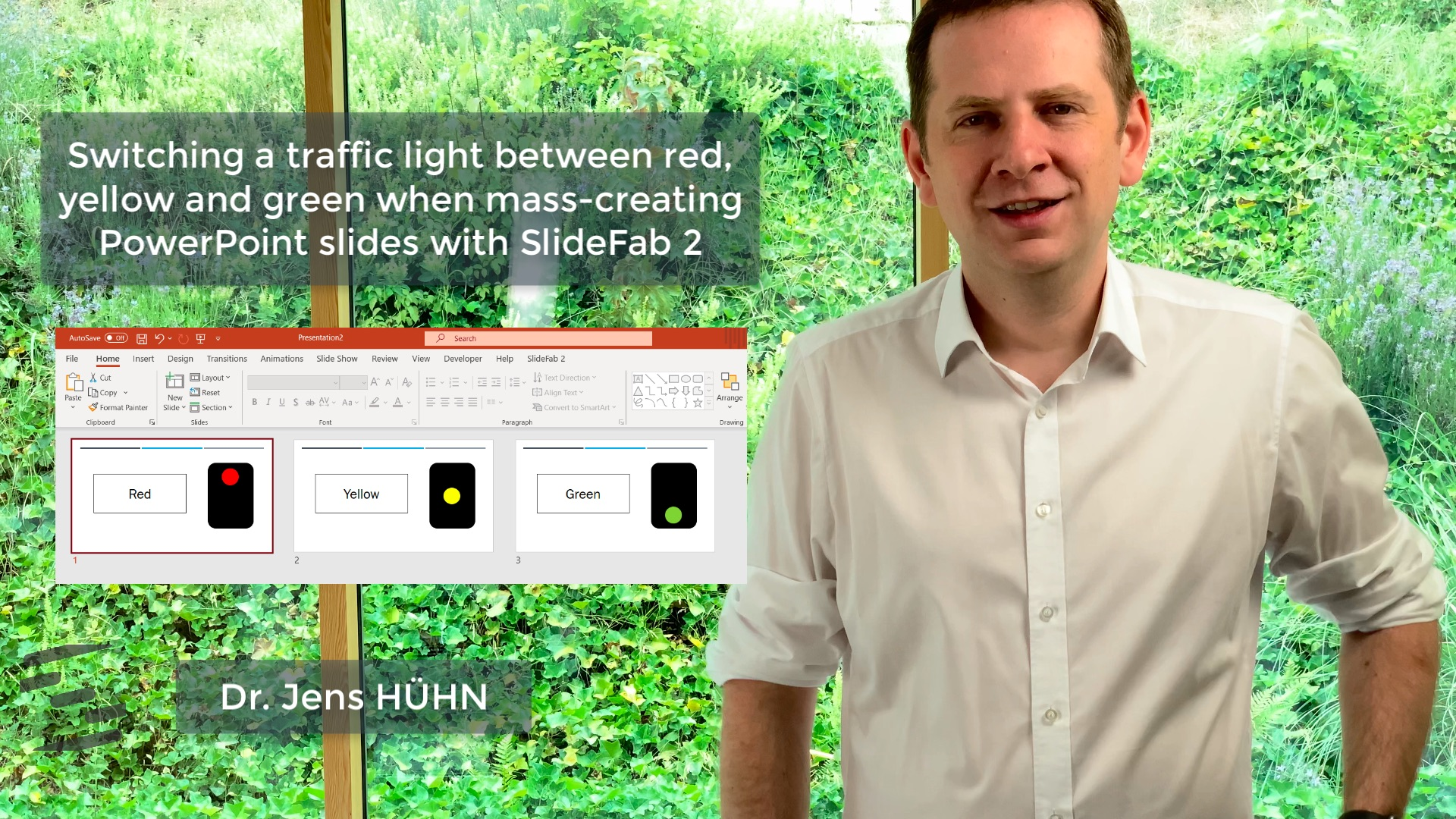 This is a preview of the traffic lights explanatory video