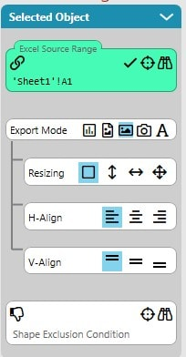 Export Mode Indirect Shape Preferences