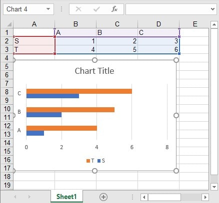 Export Mode Linked Chart Excel Source