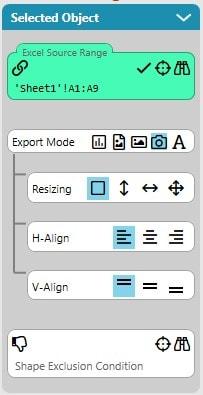 Export Mode Screenshot Preferences