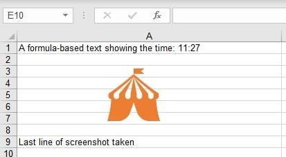 Export Mode Screenshot Excel Source