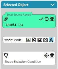 Export Mode Plain Text Settings
