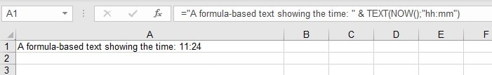 Export Mode Plain Text Excel Source Example